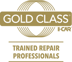 gold-class trained collision repair professional