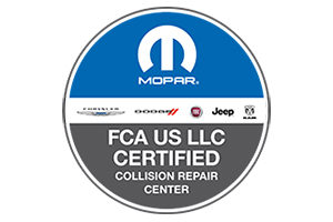 FCA certified collision center