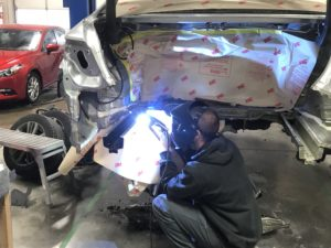 Auto Body Repair - Frame Welding