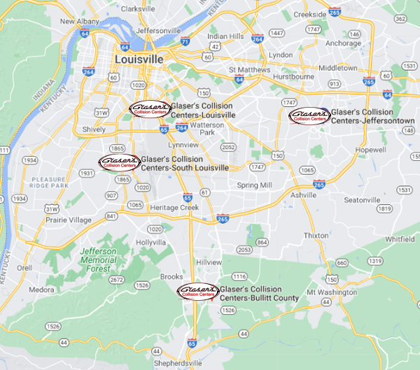 body shop locations map