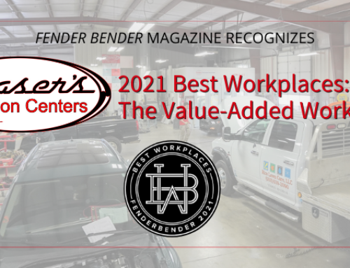 Glaser's Collision Centers Named Best Workplace