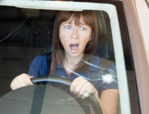 What Do I Do if My Car's Glass Breaks While Driving?